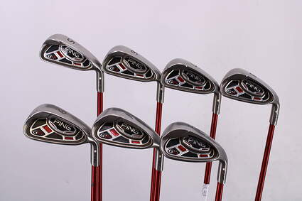 Ping G15 Iron Set 5-PW Ping TFC 149I Graphite Regular Right Handed White Dot 39.5in