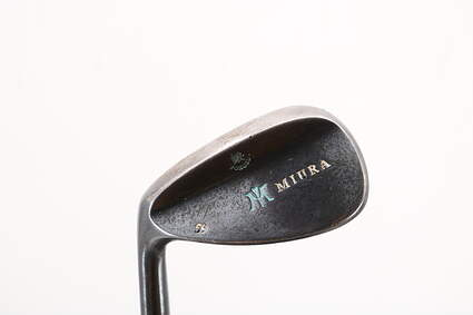 Miura Wedge Series Wedge Sand SW 59° Stock Steel Shaft Steel Stiff Left Handed 35.5in
