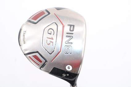 Ping G15 Driver 9° Aldila Serrano 60 Graphite Stiff Right Handed 45.5in