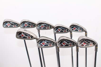 Ping G15 Iron Set 3-GW Ping AWT Steel Regular Right Handed Yellow Dot 39.25in