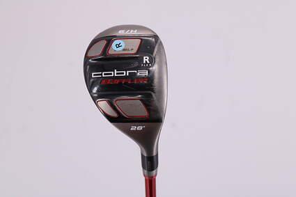 Cobra T-Rail + Hybrid 6 Hybrid 28° Graphite Design G-Series G70 Graphite Regular Right Handed 39.25in