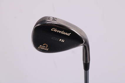 Cleveland CG15 Black Pearl Wedge Sand SW 56° 14 Deg Bounce Stock Graphite Shaft Graphite Wedge Flex Right Handed 35.75in