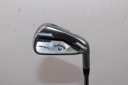 Callaway Apex Single Iron 6 Iron True Temper XP 95 R300 Steel Regular Right Handed 37.5in