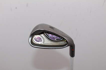 Ping Rhapsody Wedge Pitching Wedge PW Stock Graphite Shaft Graphite Ladies Right Handed Red dot 35.0in