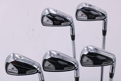 Mint Tour Edge EXS Pro Forged Iron Set 6-PW Stock Steel Shaft Steel Stiff Right Handed 38.0in