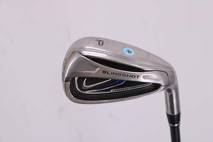 Nike 2010 Slingshot Single Iron Pitching Wedge PW Stock Graphite Shaft Graphite Regular Right Handed 36.25in