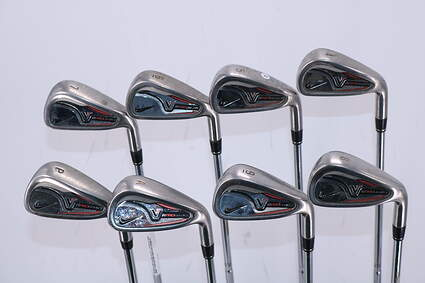 Nike Victory Red Pro Cavity Iron Set 4-PW GW True Temper Dynalite 110 Steel Stiff Right Handed 38.5in