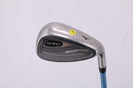 Mizuno Sora Wedge Pitching Wedge PW Stock Graphite Shaft Graphite Ladies Right Handed 34.75in