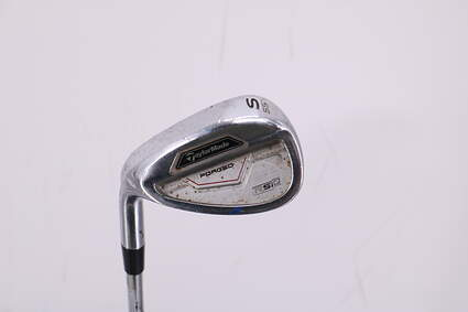 TaylorMade RSi 2 Wedge Sand SW 55° Stock Steel Shaft Steel Wedge Flex Left Handed 35.75in