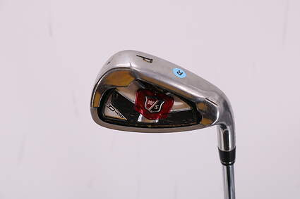 Wilson Staff D100 Single Iron Pitching Wedge PW Stock Steel Shaft Steel Regular Right Handed 36.0in