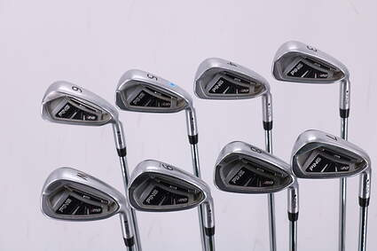 Ping I20 Iron Set 3-PW Ping CFS Steel Regular Right Handed Black Dot 38.5in