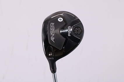 Ping Anser Fairway Wood 3 Wood 3W 14.5° Ping TFC 800F Graphite Stiff Left Handed 42.5in