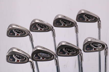 Ping i5 Iron Set 3-PW Ping AWT Steel Stiff Right Handed Black Dot 38.0in