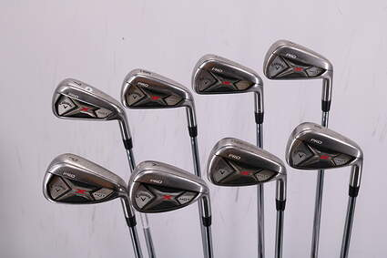 Callaway 2013 X Hot Pro Iron Set 4-PW GW Project X Rifle 6.0 Steel 6.0 Right Handed 38.25in
