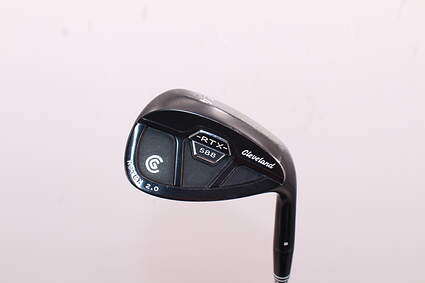 Cleveland 588 RTX 2.0 CB Black Satin Wedge Gap GW 54° Cleveland ROTEX Wedge Graphite Wedge Flex Right Handed 35.5in