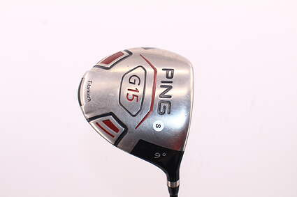 Ping G15 Driver 9° UST Competition 65 SeriesLight Graphite Stiff Right Handed 45.5in