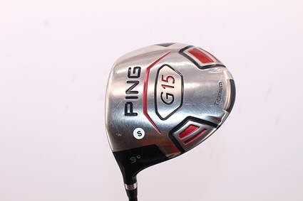Ping G15 Driver 9° Stock Graphite Shaft Graphite Stiff Left Handed 45.75in
