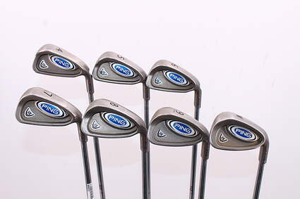 Ping i5 Iron Set 4-PW True Temper Steel Stiff Right Handed Red dot 38.0in