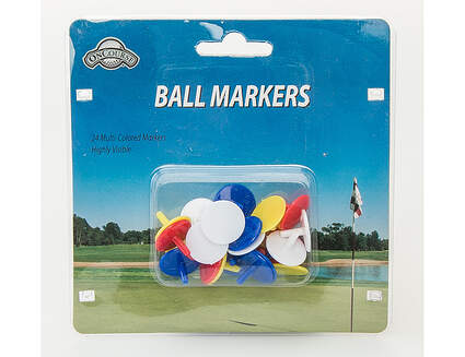OnCourse Ball Markers