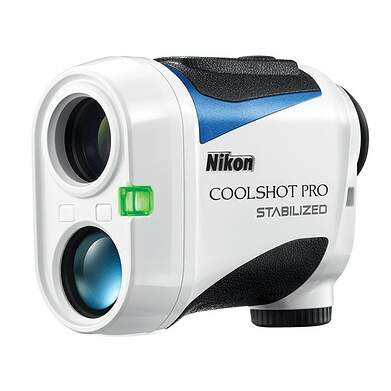 Nikon Coolshot Pro Stabilized Golf GPS & Rangefinders