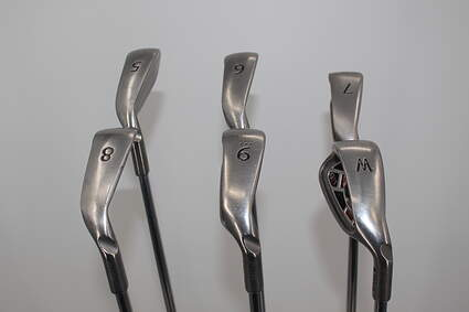 Ping G15 Iron Set 5-PW Ping AWT Steel Regular Right Handed Black Dot 37.75in