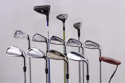 Mens Complete Golf Club Set Right Handed Stiff Flex All Titleist Clubs Scotty Cameron Putter RH MSRP $ 2199