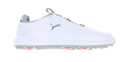 New Mens Golf Shoe Puma IGNITE PWRADAPT Medium 11.5 White 190581 01 MSRP $150