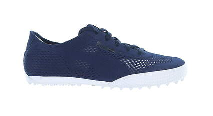 New W/O Box Womens Golf Shoe Puma Monolite Cat Woven 8.5 Blue 190611 03 MSRP $70