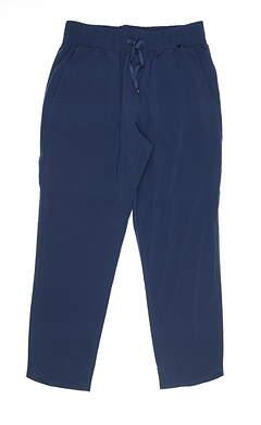 New Womens Puma Lightweight Pants Small S Blue 595861 MSRP $70