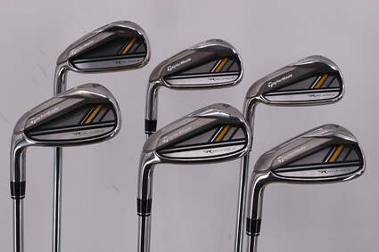 TaylorMade Rocketbladez Iron Set 5-PW TM RocketFuel 85 Steel Steel Regular Left Handed 38.0in