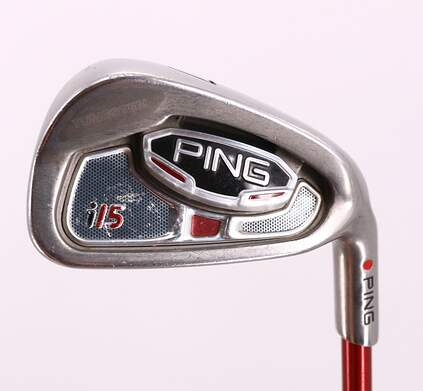 Ping i15 Single Iron 7 Iron Ping TFC 149I Graphite Regular Right Handed Red dot 37.0in