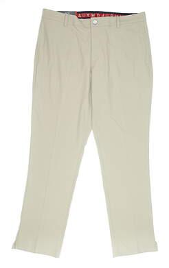 New Mens Puma Jacpot Pants 38 x32 Khaki MSRP $95 578181