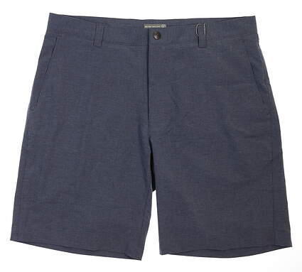 New Mens Peter Millar Golf Shorts 38 Navy Blue MSRP $98 MS18EP01