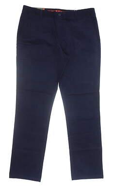 New Mens Puma Corduroy Pants 36x32 Peacoat MSRP $95 595128