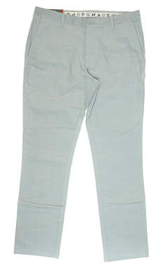 New Mens Puma Corduroy Golf Pants 36x32 Gray MSRP $95 595128