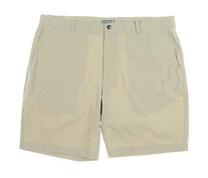 New Mens Peter Millar Golf Shorts 40 Khaki MSRP $75