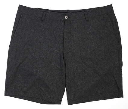 New Mens Under Armour Golf Shorts 40 Black MSRP $75 UM8812