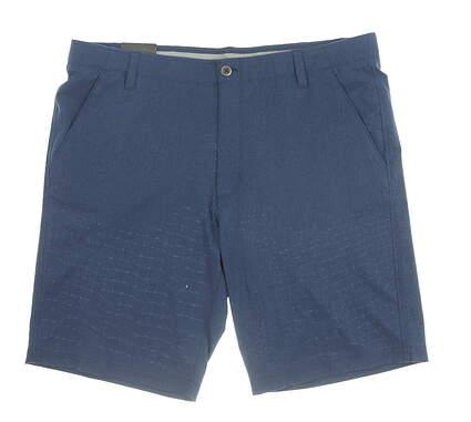 New Mens Under Armour Golf Shorts 40 Blue MSRP $75 UM2358