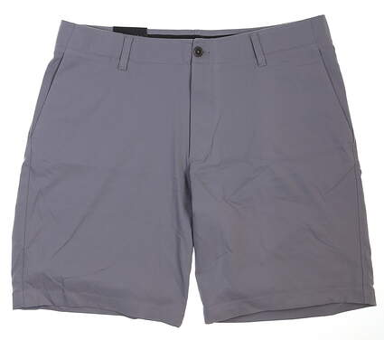 New Mens Under Armour Golf Shorts 38 Gray MSRP $75