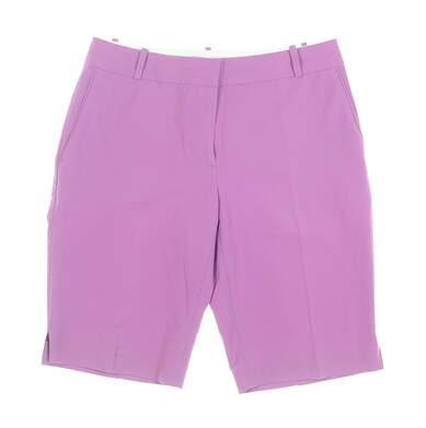 New Womens Fairway & Greene Macie Shorts 6 Purple MSRP $79 E12183