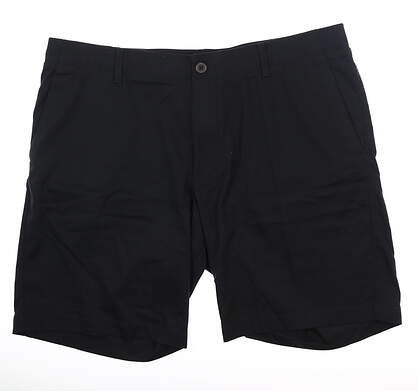 New Mens Under Armour Golf Shorts 40 Black MSRP $75 UM8810
