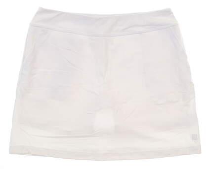 New Womens Footjoy Performance Knit Skort Large L White MSRP $85 23459