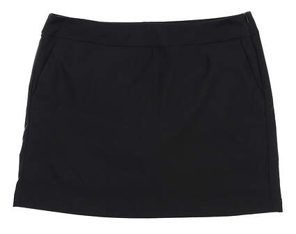 New Womens Nike Golf Dri-Fit Skort 12 Black MSRP $75