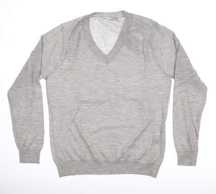 New Womens Peter Millar Sweater Medium M Gray MSRP $279 LS19S05