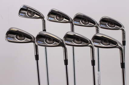 Ping 2016 G Iron Set 5-PW GW SW Nippon NS Pro Modus 3 Tour 105 Steel Stiff Right Handed Black Dot 38.25in