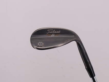 Titleist Vokey SM5 Raw Black Wedge Lob LW 58° 11 Deg Bounce K Grind Dynamic Gold Tour Issue S400 Steel Stiff Right Handed 35.0in