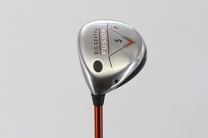 Callaway Big Bertha Fusion Fairway Wood 5 Wood 5W 19° Aldila NVS 55 Graphite Regular Left Handed 42.0in