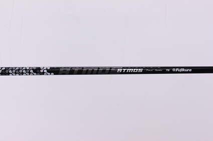 Used W/ Adapter Fujikura Atmos Black Tour Spec Driver Shaft Stiff 44.0in