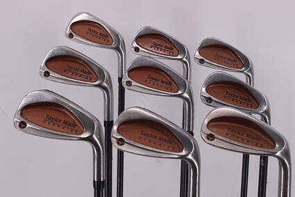 TaylorMade Burner Oversize Iron Set 3-PW GW TM Bubble Graphite Stiff Right Handed 38.25in