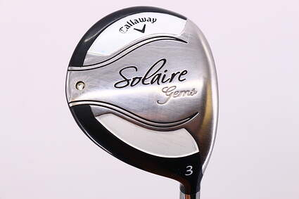 Callaway 2014 Solaire Fairway Wood 3 Wood 3W 16° Callaway Gems 55w Graphite Ladies Right Handed 42.5in